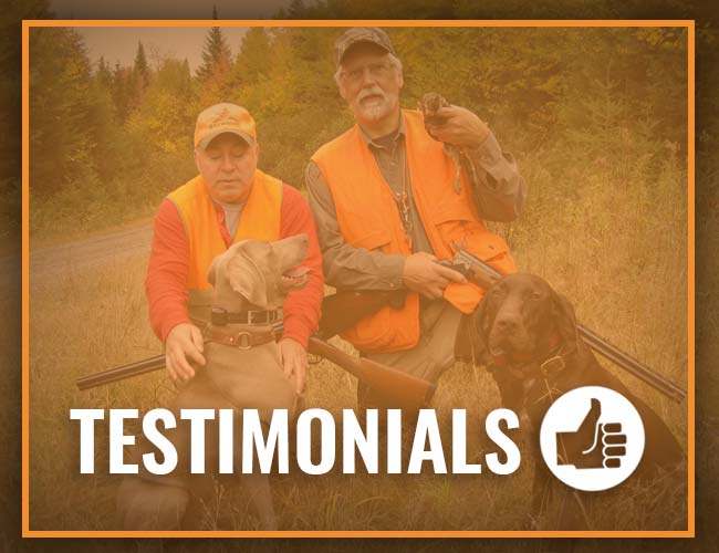 Spaulding Lake Outfitters Testimonials