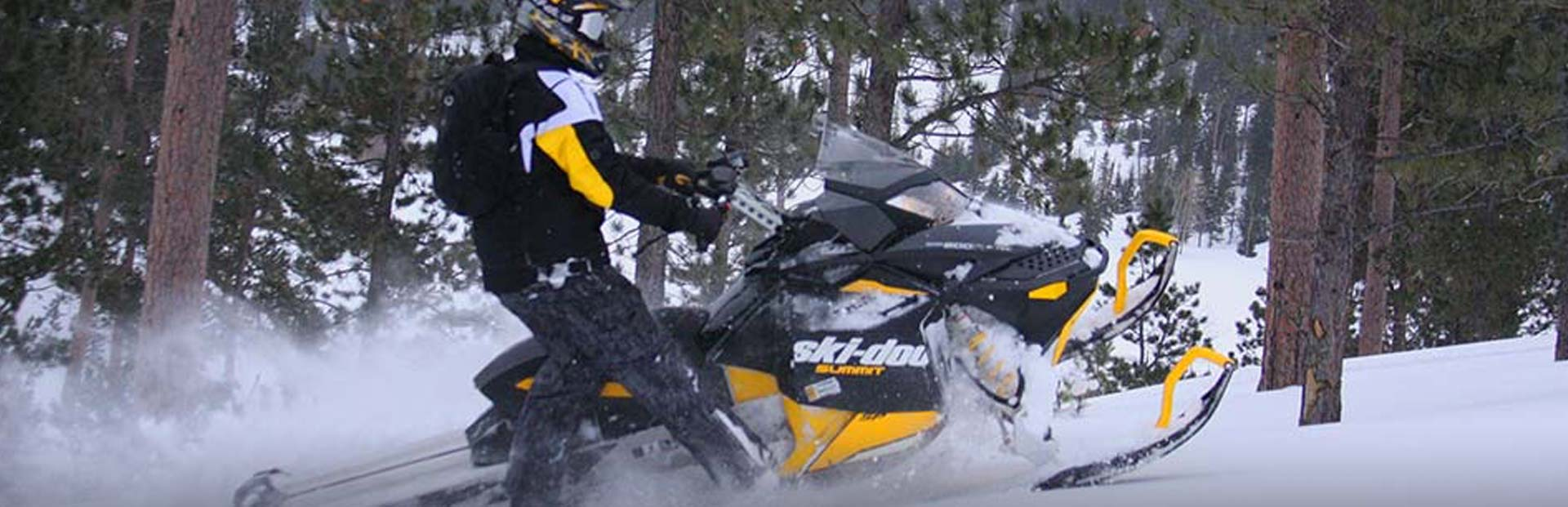 Maine Snowmobiling - Spaulding Lake Outfitters